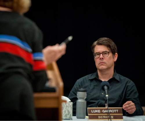 Michael Mangum  |  Tribune file photo  City Councilman Luke Garrott.