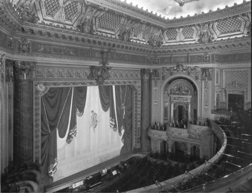 Utah Heritage Foundation docents will host free guided tours through the historic Utah Theatre on Main Street June 9, July 14 and Aug. 11. Courtesy Utah Heritage Foundation