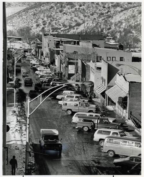 Tribune file photo  A view of Park City's Main Street is seen in this 1975 photo.