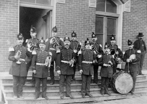 Tribune file photo  Park City Brass Band, 1895