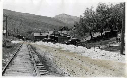 Tribune file photo  A view of Park City is seen in this 1940 photo.