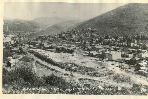 Tribune file photo  An overview of Park City is seen in this photo from 1882.