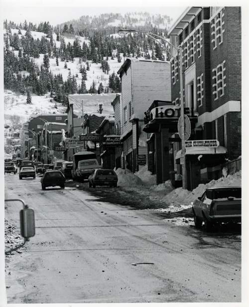 Tribune file photo  A view of Park City's Main Street is seen in this 1973 photo.