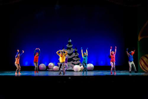 """Pioneer Theatre Company presents """"It Happened One Christmas,"""" a show of holiday favorites, with new twists, and a cast of 28, conceived by Karen Azenberg and Kenneth Jones. It plays through Dec. 19. Dec.Alexander Weisman  