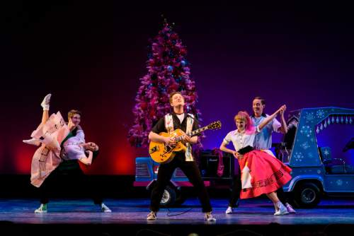 Pioneer Theatre Company presents ìIt Happened One Christmas,î a show of holiday favorites, with new twists, and a cast of 28, conceived by Karen Azenberg and Kenneth Jones. It plays through Dec. 19. Alexander Weisman  |  Courtesy