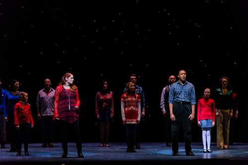 """Pioneer Theatre Company presents """"It Happened One Christmas,"""" a show of holiday favorites, with new twists, and a cast of 28, conceived by Karen Azenberg and Kenneth Jones. It plays through Dec. 19. Alexander Weisman  