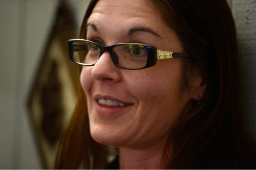 Scott Sommerdorf   |  The Salt Lake Tribune Nicole Lowe speaks about her time on the road, Thursday, December 5, 2015. Lowe was once homeless and a drug user. Now she is an attorney with the A.G.'s office. She donates her own time to help homeless people with legal issues.