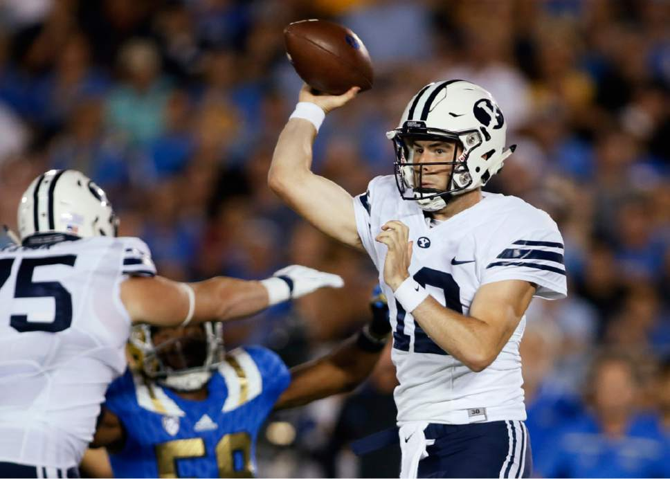 BYU football: Tanner Mangum, an optimist, from the start ...