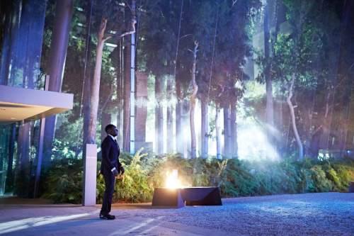 "Osy Ikhile as Milo Rodricks in ""Childhood's End."" Narelle Portanier  |  Syfy"