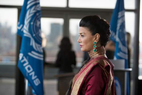 "Shohreh Aghdashloo as Chrisjen Avasarala in ""The Expanse."" Rafy  