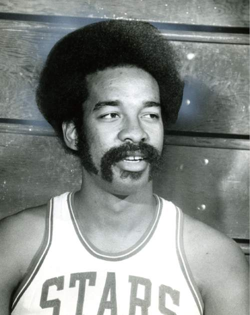 Utah Stars player Willie Wise was part of the Stars 1971 ABA championship team.  Tribune archives