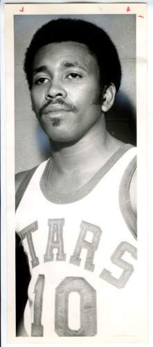 Mervin Jackson in Utah Stars basketball uniform. Sept. 28, 1971. Tribune File Photo