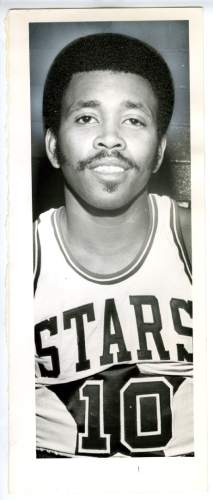 Mervin Jackson in Utah Stars basketball uniform. Oct. 26, 1972. Tribune File Photo