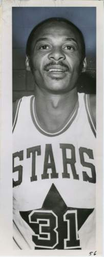 Tribune File Photo Utah Stars ABA basketball player Zelmo Beaty. Jan. 16, 1973.