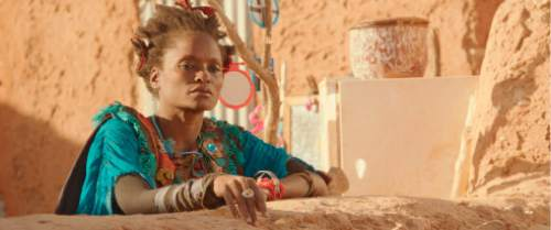 "This photo provided by Cohen Media Group shows Kettly Noel in a scene from the film, ""Timbuktu,"" directed by Abderrahmane Sissako. The film is nominated for an Oscar for best foreign language film. The 87th Annual Academy Awards are held on Sunday, Feb. 22, 2015, at the Dolby Theatre in Los Angeles. (AP Photo/Cohen Media Group)"