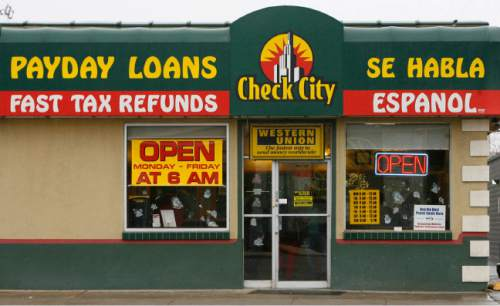 Leah Hogsten  |  Tribune file photo Lawmakers in recent years have tightened rules on payday lenders but the state still has relatively loose restrictions and state regulators are lax at enforcing the ones on the books.