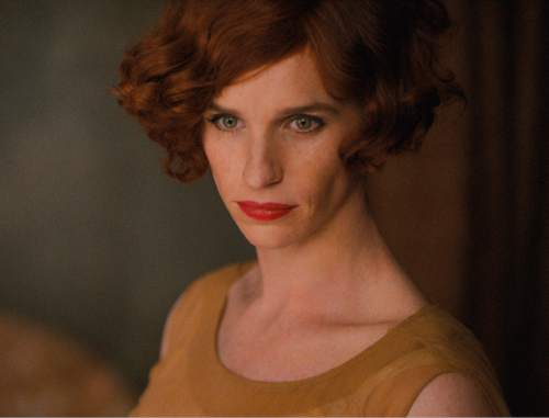 """This photo provided by Focus Features shows, Eddie Redmayne as Lili Elbe, in Tom Hooper's """"The Danish Girl."""" The movie opens in U.S. theaters on Nov. 27, 2015. (Focus Features via AP)"""