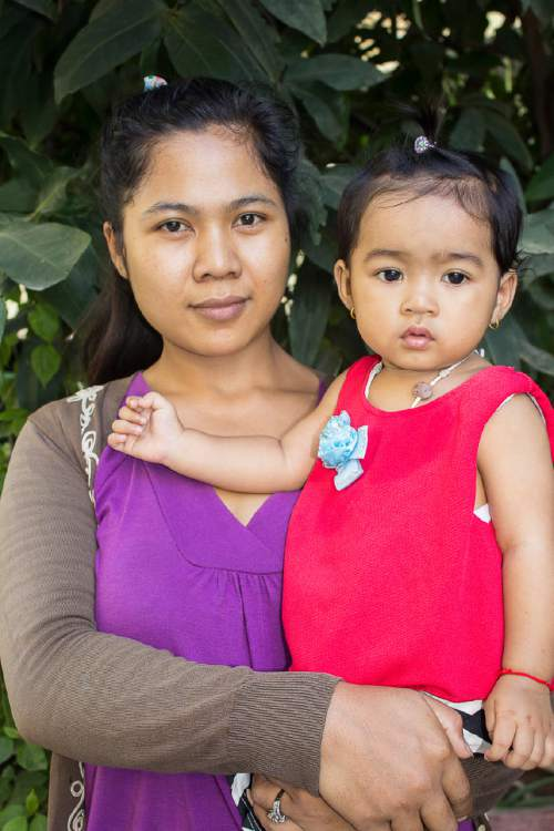 Courtesy photo  Utah-based Ambrosia Labs offers customers human breast milk donated by mothers in Cambodia.