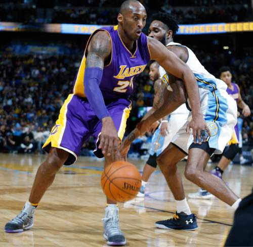 NBA: Bryant Scores 31 As Lakers Beat Nuggets
