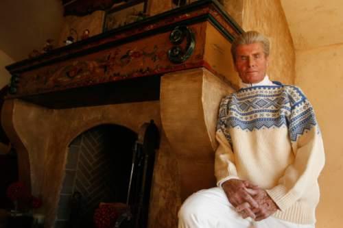 Leah Hogsten  |  The Salt Lake Tribune Ski legend Stein Eriksen at age 81 in his home in Park City in 2009. Eriksen died Sunday at age 88.