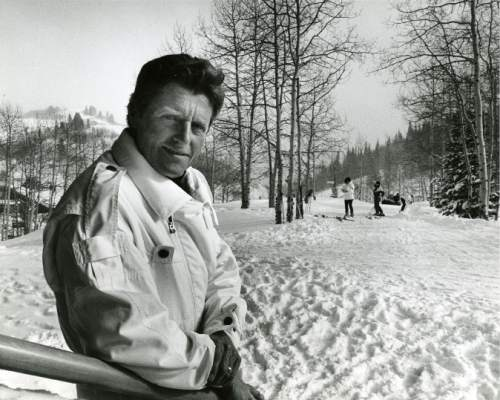 Tribune file photo | Stein Eriksen, seen here in 1969, won gold and silver slalom medals for Norway in the 1952 Winter Olympics. Then Eriksen immigrated to the United States and became the patriarch of Utah skiing. Eriksen died Dec. 27, 2015, at his home in Park City. He was 88.