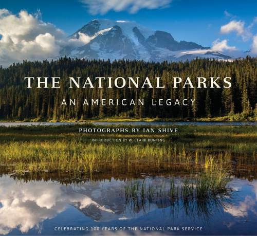 "Courtesy photo Book cover for the new release, ""The National Parks: An American Legacy"""