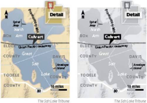 Causeway culvert and bridge plan Union Pacific is seeking permission to close off a culvert and build a bridge along the railroad causeway that serves as a crucial short-cut across Great Salt Lake.