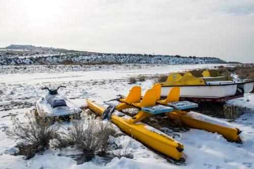 Chris Detrick     The Salt Lake Tribune The Great Salt Lake at Antelope Island Tuesday December 29, 2015.