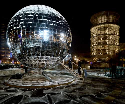 Giant Mirror Ball Will Descend At Midnight At Salt Lake