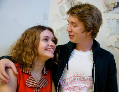 """Olivia Cooke (left) and Thomas Mann portray Rachel and Greg, who become friends in the comedy-drama """"Me and Earl and the Dying Girl."""" Courtesy Fox Searchlight Pictures"""