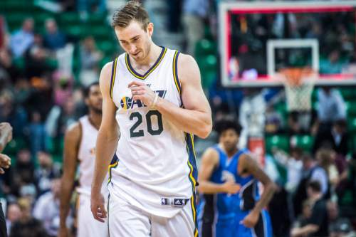 Chris Detrick  |  Tribune file photo Utah Jazz forward Gordon Hayward was among prominent Utah's on the delinquent property tax list. A spokesman said the forward has since taken care of the $6,600 tax bill on his Sandy home.