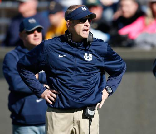 Football coaching staff departures continue at Utah State ...