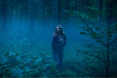 """courtesy photo Sara (Natalie Dormer) goes to Japan to search for her missing twin sister in a haunted wood at the base of Mount Fuji, in the horror thriller """"The Forest."""""""