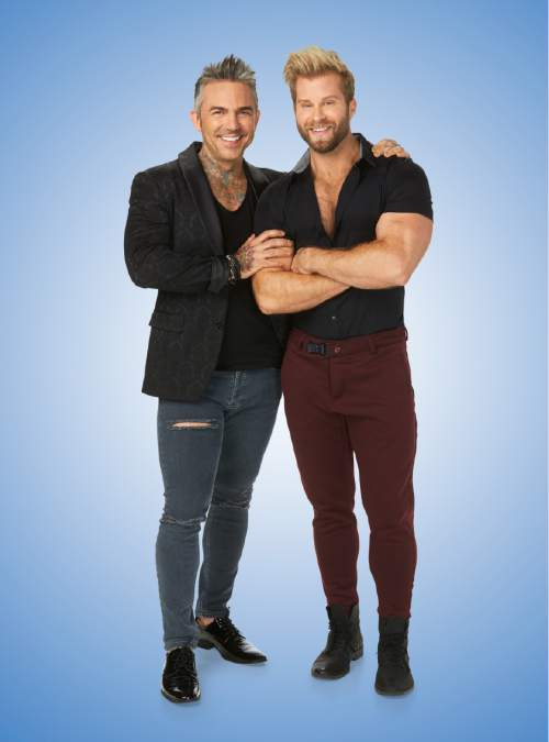 """Brandon Liberati and Craig Ramsay in """"Newlyweds: The First Year.""""  Photo by: Paul Drinkwater/Bravo"""