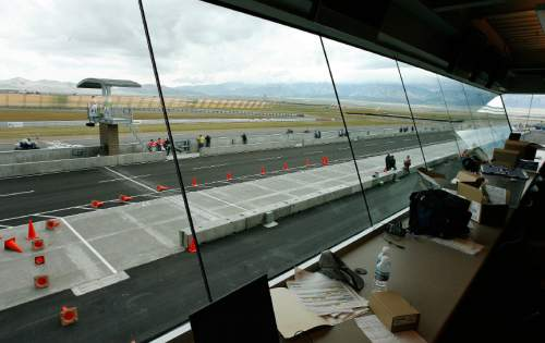 Steve Griffin | Tribune file photo The view form inside the press area at the Larry Miller Motorsports Park in Tooele June 9, 2006.