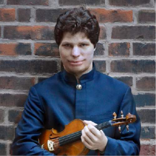 Courtesy photo  Violinist Augustin Hadelich, playing Mozart Violin Concerto No. 4 with the Utah Symphony in January.