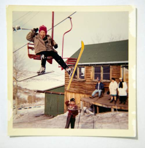 Photo courtesy of the family of Otto Carpenter  Kids could ski for $1. If they didn't have the money, they could ski anyway and work it off for Bob Burns and Otto Carpenter. The Snow Park Lodge had the best two-bits hamburger in the Wests, according to The New York Times.