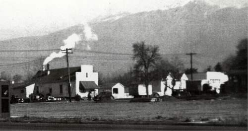 During the 1940s, the Clover Club potato chip factory was located on 100 North in Kaysville. Courtesy  |  Heritage Museum of Layton