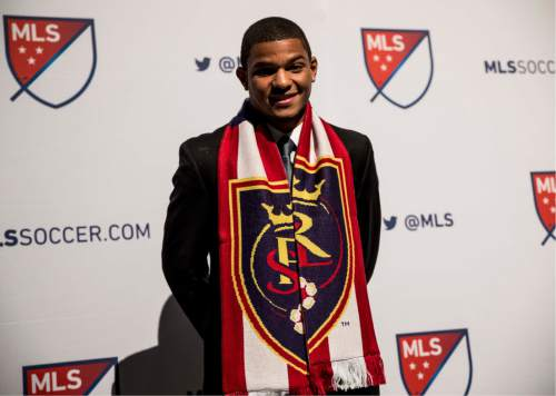 Tyler Gibbons  |  RSL  RSL drafted UNC Jamaican midfielder Omar Holness with the No. 5 pick in the 2016 MLS SuperDraft Thursday in Baltimore, Md.
