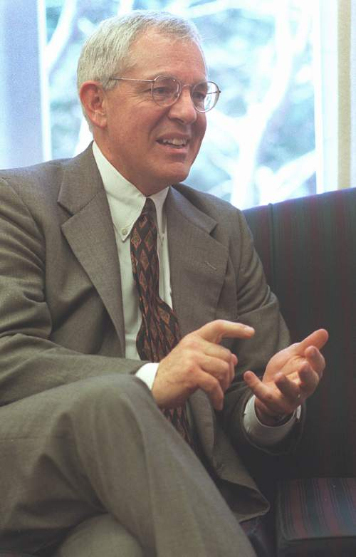 Marlin Jensen • Former historian for the LDS Church.