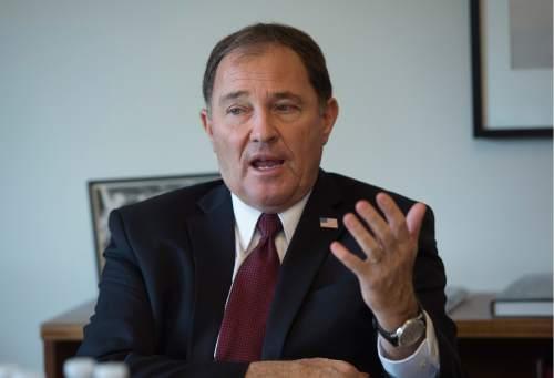 Scott Sommerdorf   |   Tribune file photo Gary Herbert  •  Utah governor
