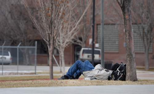 Francisco Kjolseth | The Salt Lake Tribune A recent poll story on homelessness tries to answer the questions surrounding funding and responsibility.