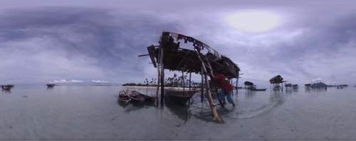 "Life among the Bajau, a nomadic tribe on the coast of southeast Asia, is shown in ""Nomads: Sea Gypsies,"" one of the virtual-reality works to be shown in the New Frontier program of the 2016 Sundance Film Festival. Felix Paul Studios  