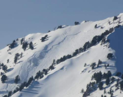 Bill Nalli | UDOT  A man was killed in an avalanche Thursday, the first avalanche-related death in 2016.