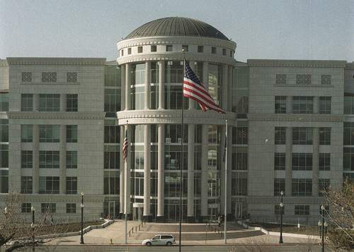 Scott Matheson Courthouse. photo by Ryan Galbraith. 12/29/1999