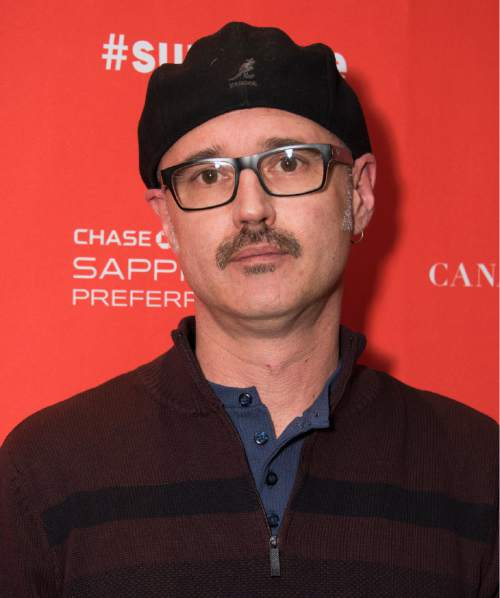 """Director Keith Fulton poses at the premiere of """"The Bad Kids"""" during the 2016 Sundance Film Festival on Friday, Jan. 22, 2016, in Park City, Utah. (Photo by Arthur Mola/Invision/AP)"""