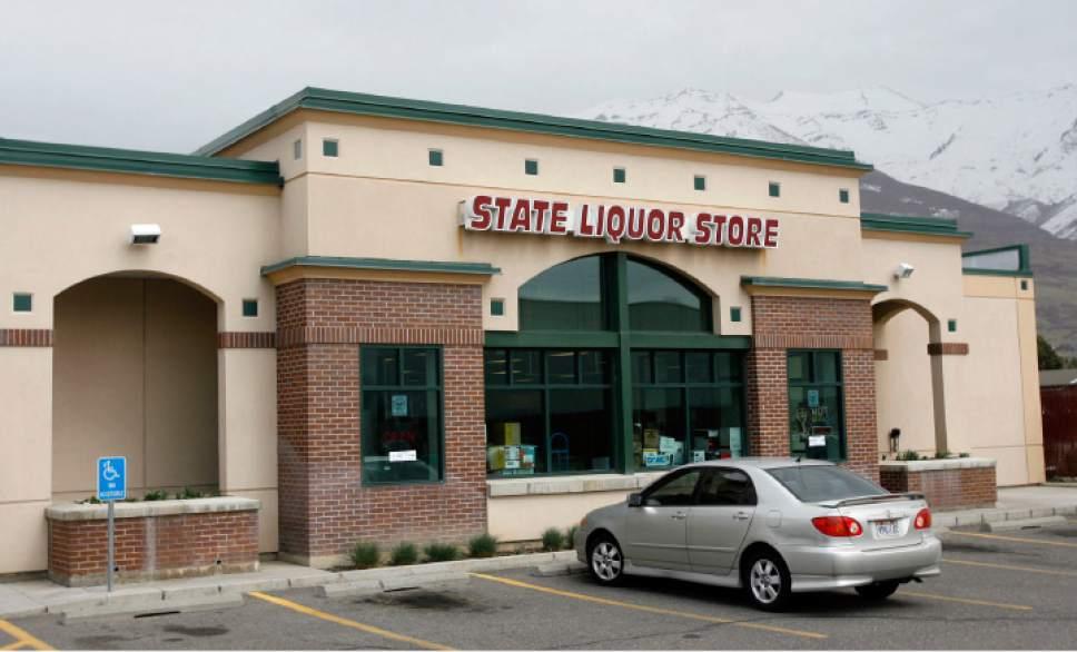 Francisco Kjolseth  |  Tribune file photo The liquor store in Orem pictured on March, 19, 2011.
