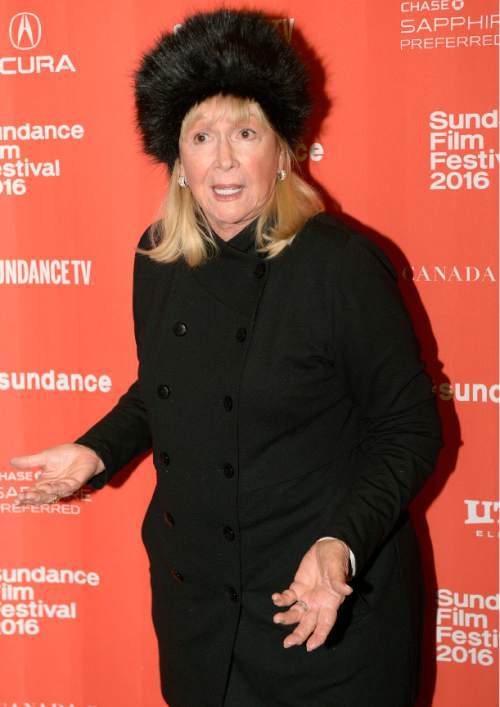 "Leah Hogsten  |  The Salt Lake Tribune l-r Diane Ladd on the red carpet for the premiere screening of ""Sophie and the Rising Sun"" during the Sundance Film Festival at Rose Wagner Theatre in Salt Lake City, January 22, 2016."