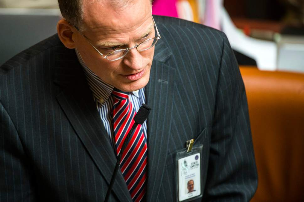 Chris Detrick     Tribune file photo Rep. Kraig Powell, R-Heber City, is one of a handful of Utah lawmakers who refuse to accept special-interest campaign donations.