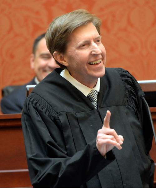 Al Hartmann  |  Tribune file photo Utah Chief Justice Matthew Durrant says criminal-justice reform will only work if the state provides adequate resources to provide the additional treatment that was anticipated.